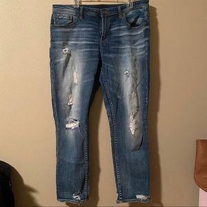 Buckle Black Jeans, size 33